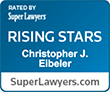 Rising Stars - Christopher J. Eibeler badge
